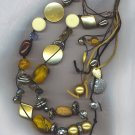 FANTASTIC LONG MULTI BEAD NECKLACE