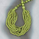 FABULOUS MULTI STRAND BEAD NECKLACE