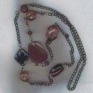"Amazing Purple Bead 38"" Necklace"