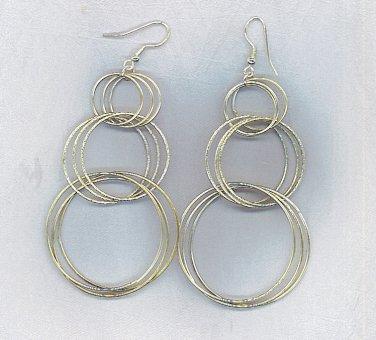 Fashion Earrings in Multi Hoop Earrings