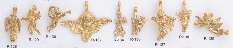 One Dozen Cherub And Or Angel Pendants