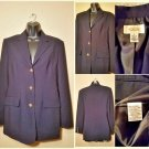 Talbots Career Blazer Blue Jacket size 4
