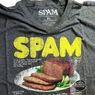 Spam t shirt mens retro style gray different sizes