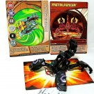 Bakugan Metalfencer Black Darkus Aquos Ventus, metalfencer card 3 piece lot