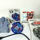 Beyblade BB70 Galaxy Pegasus Pegasis 4D Metal Fusion with Launcher