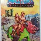 He-Man Battle Cat Teela MOTU Rare Vintage Coloring Book 1983