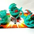 bakugan green ventus percival 720g, alpha percival 510g, alpha translucent 650g