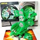 bakugan dharak 700g green ventus, vilantor battle gear 90g + cards 4 piece lot