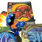 Bakugan Juggernoid Blue Aquos B1 Classic 310G and 3 cards