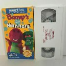 Barney's Best Manners VHS Video Tape 1993 Barney & Friends Collection