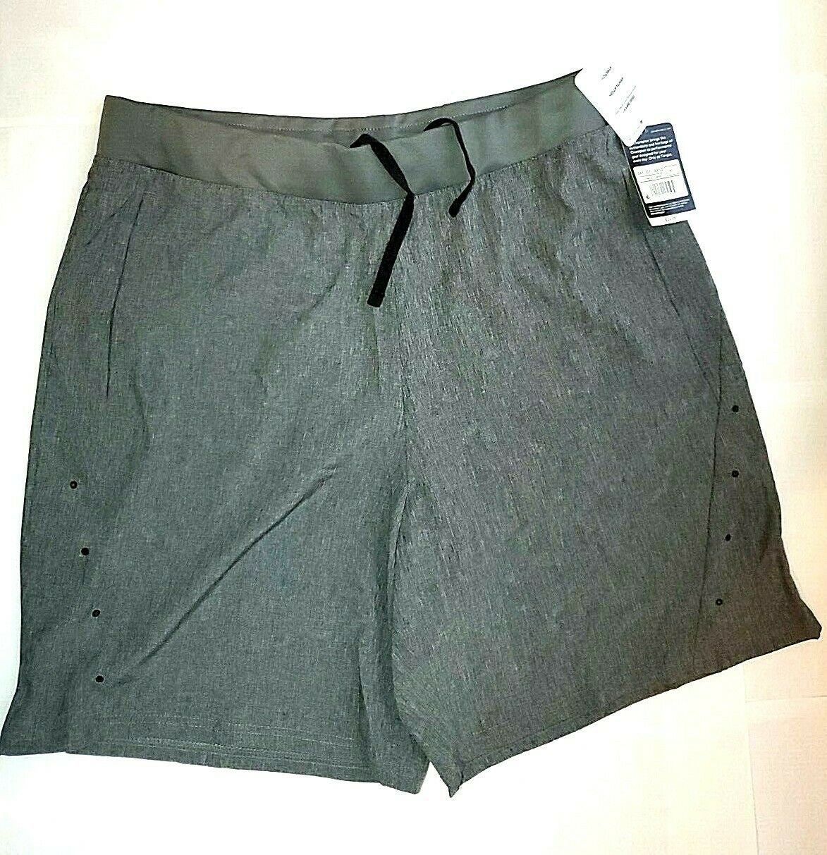 c9 Champion Shorts XL Grey Mens Unlined Active Drawstring Waist Duo Dry MSRP 25$
