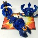 Bakugan Blue Aquos B2 lot of 3 cosmic ingram 510g, Scraper 540g, verias 510g