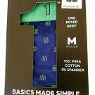 1 Box Mens Basics Made Simple 1 Knit Boxers 95% Pima Cotton size M