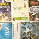 Nintendo Wii Game Lot Bundle 5 Games, sonic unleashed, tron evolution and more!
