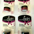 Lot Of 4 ChapStick Total Hydration Exfoliating Balm In Sugar Plum exfoliate Lips