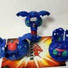 Bakugan Blue Aquos B2 lot of 3 clayf 310g, duel elfin 530g, spindle 400g