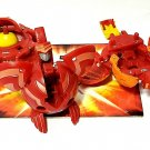 Bakugan Red Pyrus B2 lot of 3 avior 630g, frosch 530g, boost ingram 660g