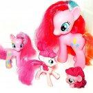 My Little Pony G4 Pinkie Pie Pony 2010, 4 piece lot