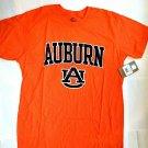 NCAA Auburn Tigers destressed t shirt men orange heather large New with tags