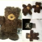 "Vermont Teddy Bear 16"" Brown Vintage Plush Stuffed Animal"