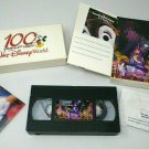 Walt Disney World 100 Years of Magic Promotional VHS Vintage