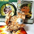 bakugan subterra dharak 720G, rock hammer battlegear 60g + cards 4 piece lot