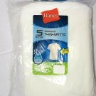 Hanes Boy's 5-Pack Comfortsoft Tagless T-Shirts XS 4-5 NWT