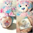 "Build-A-Bear Baskin Robbins Bubble Gum Ice Cream Cone Teddy Bear 16"" Plush-EUC!"