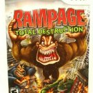 Rampage Wii Total Destruction (Nintendo Wii, 2006) with Manual