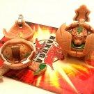 Bakugan B1 Classic LOT Tan Stinglash 250g & Tan Tigrerra  480g 2 brawler bundle