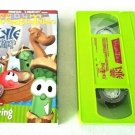 Veggie Tales Lyle & The Kindly Viking, VHS, Lesson In Sharing, 37 Minutes