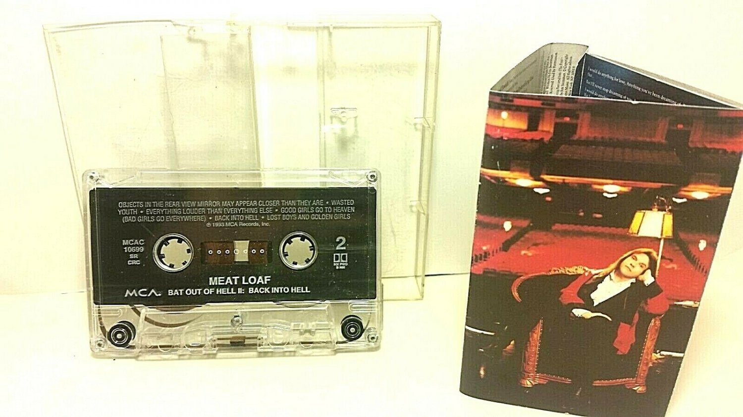 Meat Loaf - Bat Out Of Hell II: Back Into Hell Cassette Tape