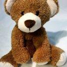 "Dan Dee brown teddy bear soft plush 14"" stuffed animal"