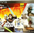 DISNEY INFINITY 3.0 EDITION STAR WARS STARTER PACK FOR SONY PS3. NEW IN BOX