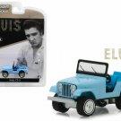 Greenlight 1:64 Jeep CJ-5 Elvis Presley Diecast Model Jeep Blue 29955