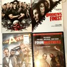 Lot Of 4 DVDs - Action Movies! The Expendables, Brooklyn's Finest, Four Brothers