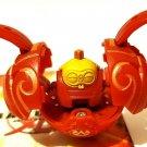 Bakugan Battle Brawlers Pyrus Red Clayf 590g Ball Figure Rare