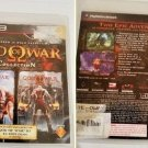 God Of War Collection God Of War 1 & 2 for PS3 First Print Black Label