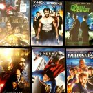 Lot Of 6 DVDs - Action Super Heroes Movies !! IRON MAN, IRON MAN 2, FANTASTIC 4