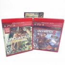 Uncharted 1 & 2 Dual Pack Drake's Fortune/Among Thieves, Sony PlayStation 3 PS3