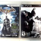 Batman Arkham City & Batman Arkham Asylum PS3 ---- 2 GREAT Games One Low Price!