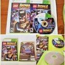 Lego Batman 2 Dc Super Heroes Xbox 360 Complete CIB Tested