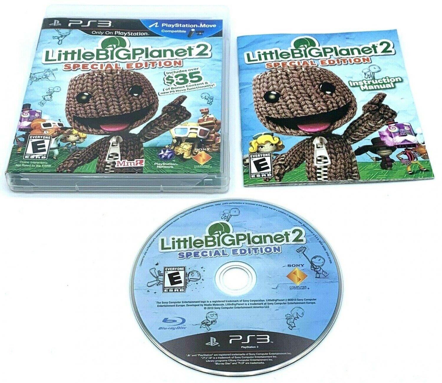 LittleBigPlanet 2 Special Edition PlayStation 3 PS3 Complete With Manual CIB