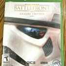 Star Wars Battlefront -- Deluxe Edition (Microsoft Xbox One, 2015) CIB