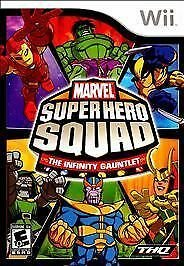 Marvel Super Hero Squad The Infinity Gauntlet - Nintendo Wii by THQ no manual