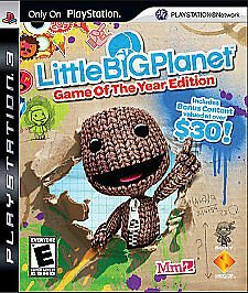 PS3 Sony PlayStation 3 Little Big Planet Game of The Year Edition