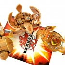 Bakugan Battle Brawlers Lot of 3 tan Subterra