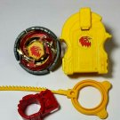 vintage beyblade earth virgo GB145BS and virgo launcher HASBRO METAL FUSION