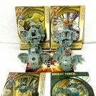 Bakugan Haos Brontes 410g, Mega Brontes 600g, Nemus 470g Mega Nemus 520g + cards