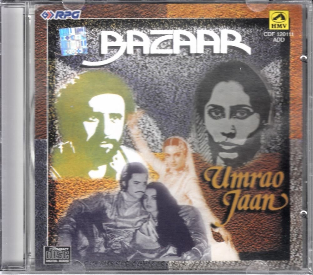 Umrao Jaan / Bazaar (Music: Khaiyyaam) (Soundtrack) (Made in India)